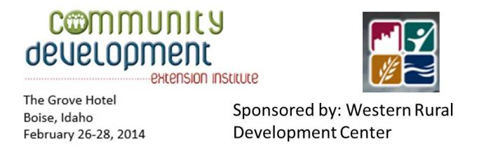 RSP Faculty to offer trainings at the Community Development Extension Institute
