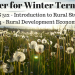 Rural Studies Courses